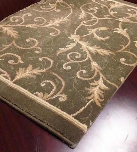 Everest 3318/4882a Oriental Green Carpet Stair Runner