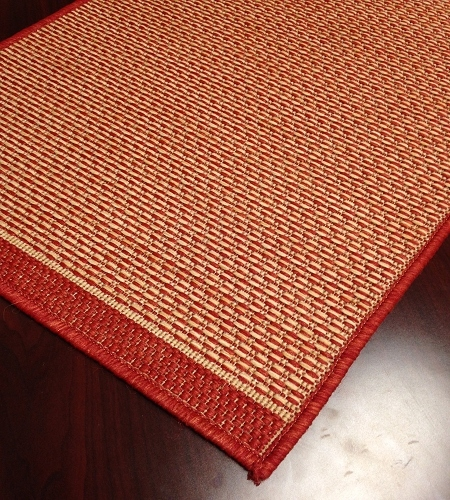 Foris FS01 Brick Indoor/Outdoor Carpet Stair Runner