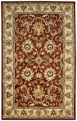 Red Guilded Rug by Capel