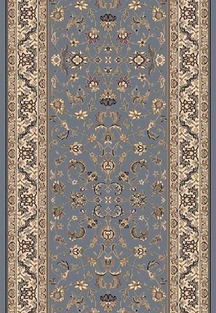 Grand GRA-03 Slate Blue Carpet Stair Runner