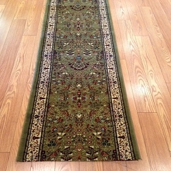 Marketplace Olive - 26 Inch Wide Finished Runner - Price is Per Foot