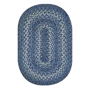 Denim Jute Braided Rug