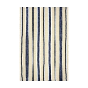 Seaside Camden Stripe Ultra Wool Braided Rug