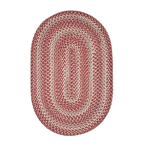 Terracotta Ultra Durable Braided Rug
