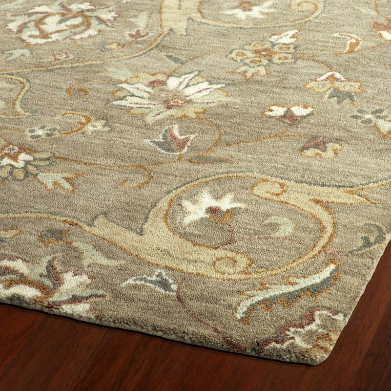 Kaleen Helena Rug Turq: Kaleen Helena 3213-82 Light Brown Rug