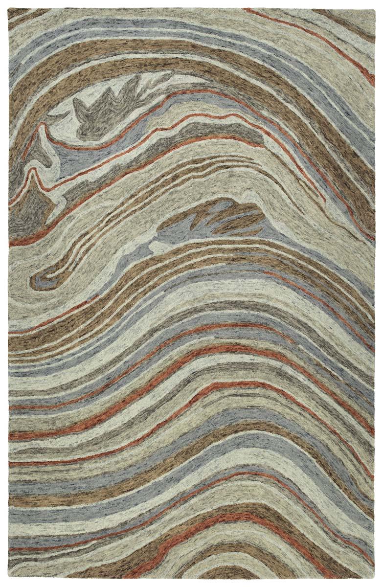 Kaleen Marble Mbl07 75 Grey Rug
