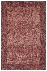 Kaleen Highline HGH01 25 Red Rug by Rachael Ray