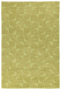 Kaleen Soho SOH02 28 Yellow Rug by Rachael Ray