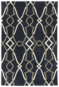 Kaleen Soho SOH06 22 Navy Rug by Rachael Ray