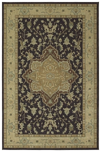 Kaleen Upstate UPS02 38 Charcoal Rug by Rachael Ray