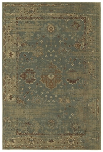 Kaleen Upstate UPS03 17 Blue Rug by Rachael Ray