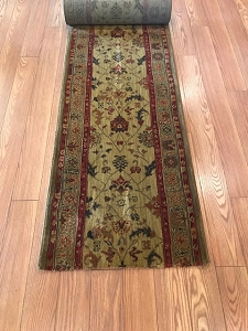 Karastan Guilded - 27 Inch Wide Finished Runner - Price is Per Foot