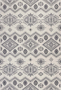 Kas Carmen 7604 Ivory Grey Journey Rug