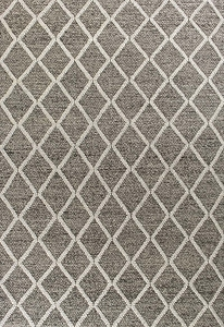 Kas Cortico 6162 Dark Grey Diamonds Rug