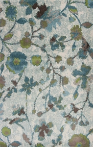 Kas Stella 6258 Teal Reflections Rug