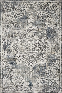 Kas Montreal 4765 Ivory Teal Bentley Rug