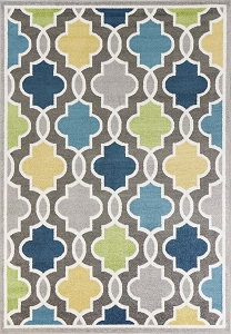Kas Skyline 6418 Grey Hampton Rug