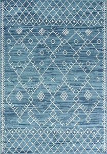 Kas Skyline 6423 Ocean Blue Escape Rug