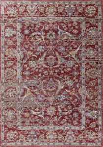 Kas Ashton 7700 Red Elegance Rug