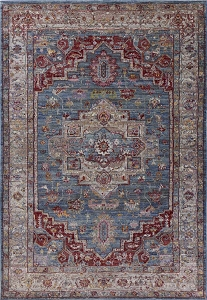 Kas Ashton 7709 Blue Grey Taylor Rug