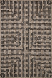 Loloi Isle IE-09 Brown Black Rug