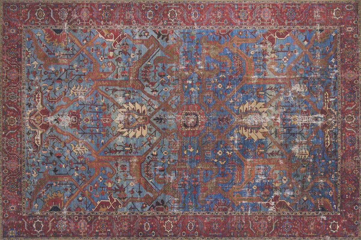 Loloi Loren Lq 10 100 Polyester Turkish Area Rug Red