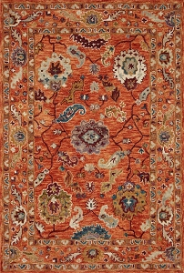 Loloi Padma PMA-01 Orange Multi Rug