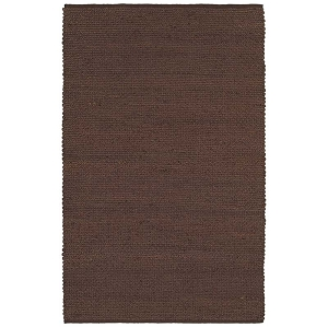 LR Resources Elite 03602 Espresso Rug