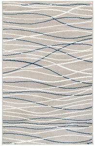 LR Resources Grace 81111 Navy Rug