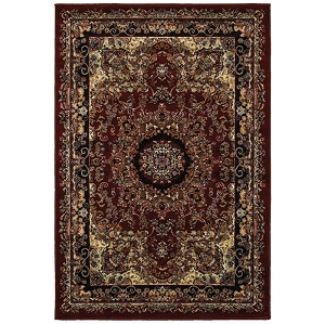 LR Resources Grace 81112 Red Rug
