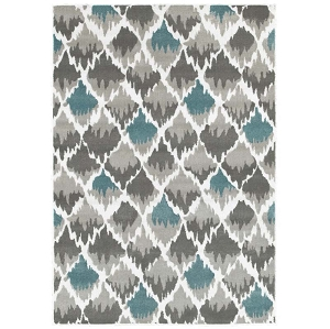 LR Resources Grace 81124 Gray Rug
