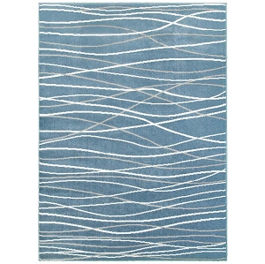 LR Resources Grace 81125 Teal Rug