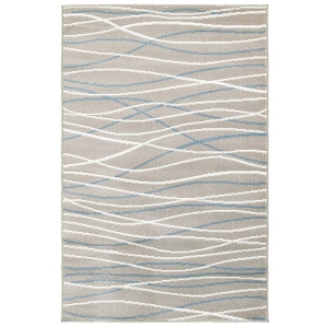 LR Resources Grace 81126 Gray Rug