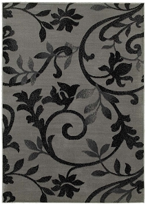 LR Resources Grace 81131 Gray Rug