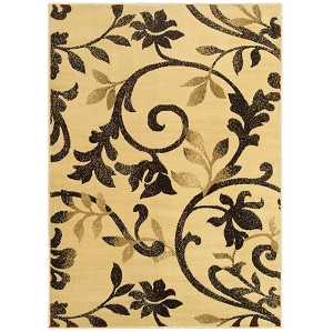 LR Resources Grace 81134 Ivory Rug