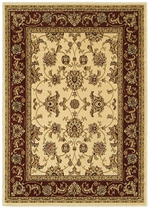 LR Resources Grace 81135 Ivory Rug