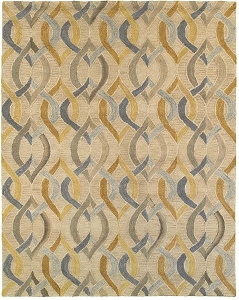 LR Resources Integrity 12011 Honey Gold Rug