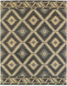 LR Resources Integrity 12015 Charcoal Rug