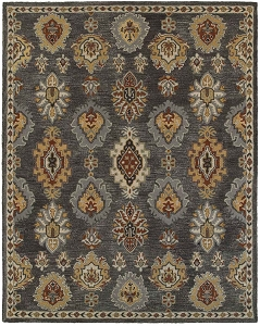 LR Resources Integrity 12019 Charcoal Rug
