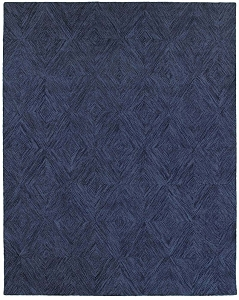 LR Resources Integrity 12021 Navy Rug