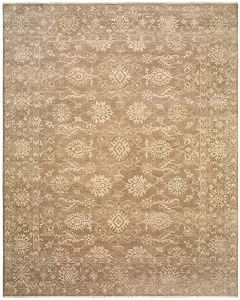 LR Resources Kanika 21021 Camel Rug