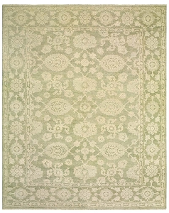 LR Resources Kanika 21024 Light Green Rug