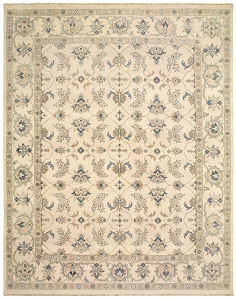 LR Resources Kanika 21025 Silver Rug