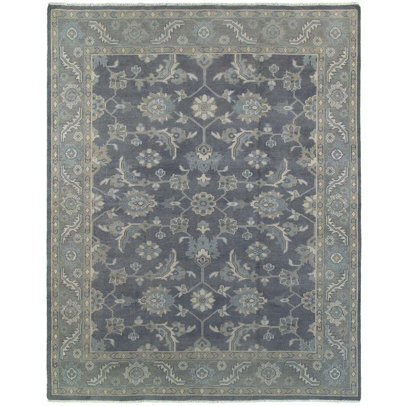 Orian Rugs Patterson Charcoal: LR Resources Kareena 21001 Charcoal Rug