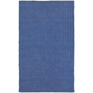 LR Resources Kessler 81212 Indigo Rug