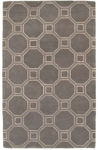 LR Resources Luxor 3852 Gray Rug