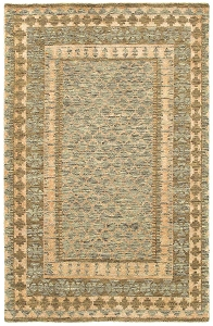LR Resources Oushak 4420 Gray Rug