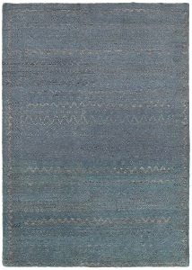 LR Resources Oushak 4423 Blue Rug