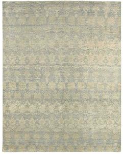 LR Resources Oushak 04427 Grey Blue Rug