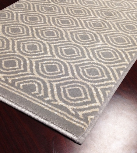 Maeve CBK4/0003a Platinum Hallway and Stair Runner